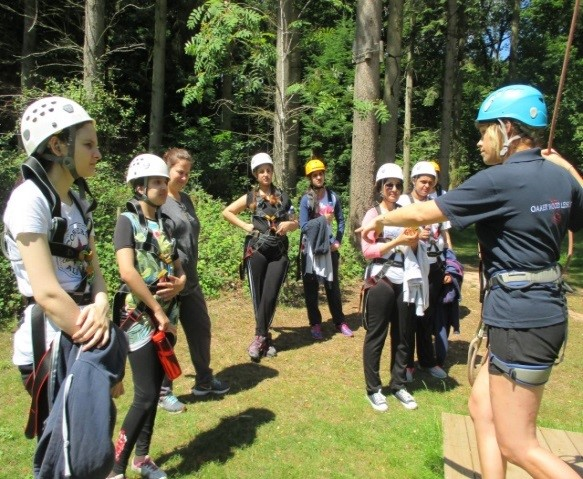 BGGS pupils from the HRB on a trip